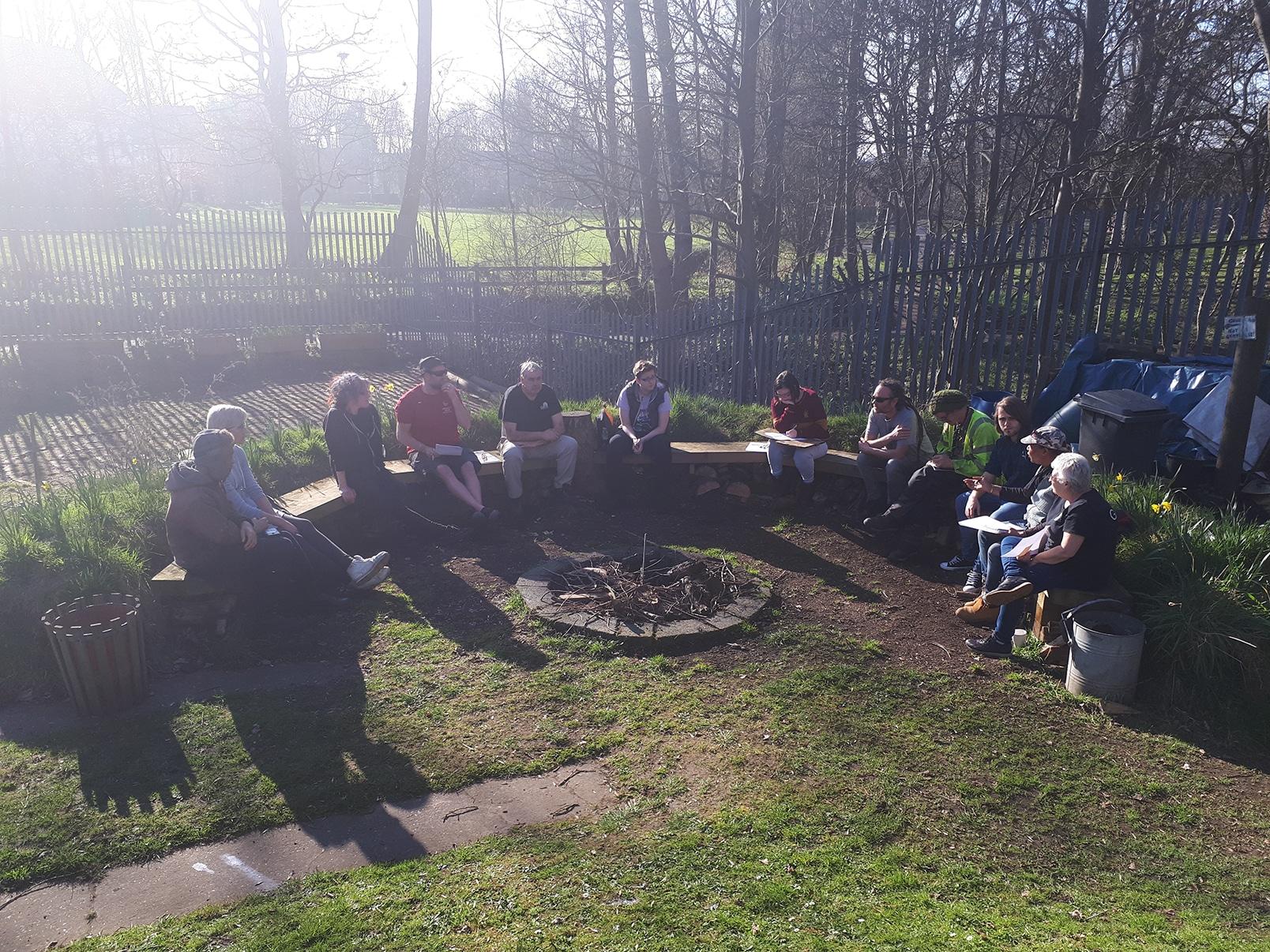 Gatis Gardening Team Get Planning